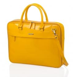 portadocumentos femenino amarillo