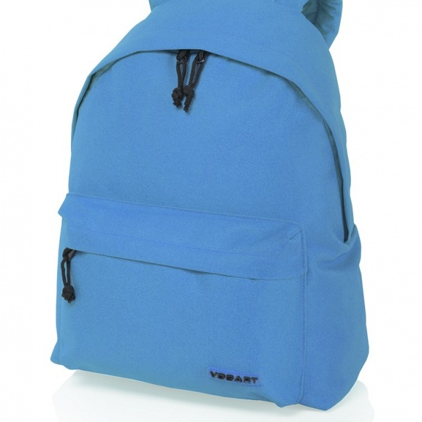 mochila azul celeste random de vogart