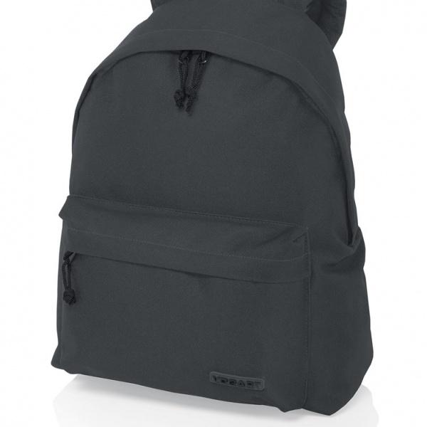 mochila gris oscuro random de vogart
