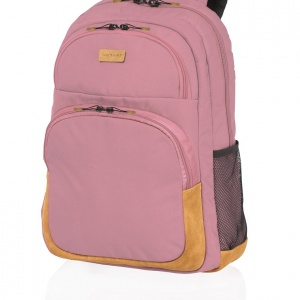 mochila campus rosa de vogart