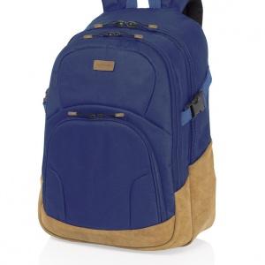 mochila campus azul de vogart